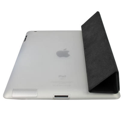 iGadgitz Clear Tough Gel TPU Back Cover for Apple iPad 3 & 4 + Screen Prot. For use with Apple Smart Cover Thumbnail 4