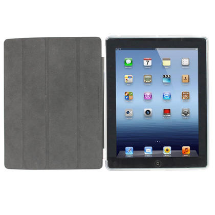 iGadgitz Clear Tough Gel TPU Back Cover for Apple iPad 3 & 4 + Screen Prot. For use with Apple Smart Cover Thumbnail 3