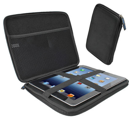 "iGadgitz Black Travel Hard Case for Apple iPad 2, 3, 4 with Retina Display, Air (launched Oct 13) & Pro 9.7"" 2016 Thumbnail 1"