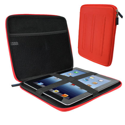 iGadgitz Red EVA Hard Case for Samsung Galaxy Tab PRO 10.1 SM-T520 / SM-T525 Thumbnail 1