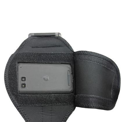 iGadgitz Black Water Resistant Neoprene Sports Armband for Motorola Defy MB525 & Defy+ (Plus) Thumbnail 5