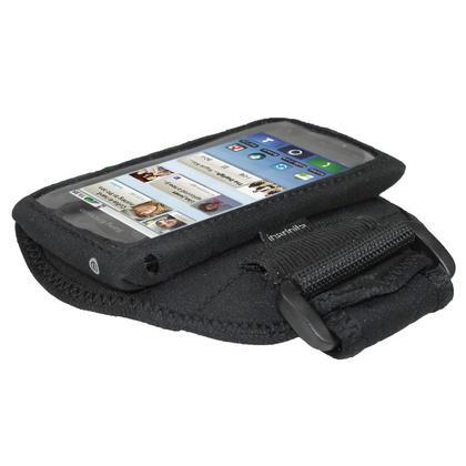iGadgitz Black Water Resistant Neoprene Sports Armband for Motorola Defy MB525 & Defy+ (Plus) Thumbnail 3