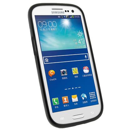 iGadgitz Black Glossy Gel Case for Samsung Galaxy S3 III i9300 + Screen Protector Thumbnail 3