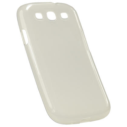 iGadgitz Clear Glossy Gel Case for Samsung Galaxy S3 III i9300 + Screen Protector Thumbnail 4