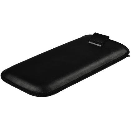 iGadgitz Black Leather Pouch Case Cover for Samsung Galaxy S3 III i9300 Android Smartphone Mobile Phone Thumbnail 3
