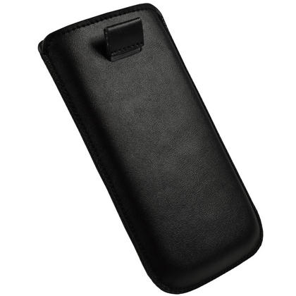 iGadgitz Black Leather Pouch Case Cover for Samsung Galaxy S3 III i9300 Android Smartphone Mobile Phone Thumbnail 4