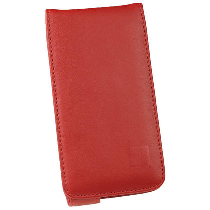 iGadgitz Red Leather Case for HTC One X S720e & HTC One X+ Plus + Screen Protector (NOT Suitable For HTC ONE M7) Thumbnail 2