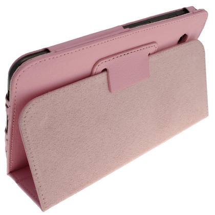 iGadgitz Pink 'Portfolio' PU Leather Case for Samsung Galaxy Tab 2 P3100 P3110 7.0 4.0 Tablet + Screen Protector Thumbnail 4