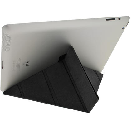 iGadgitz Black Faux Leather Cover for Apple iPad 2, 3 & 4 with Retina Display. With Sleep/Wake & Magnetic Clip Thumbnail 3