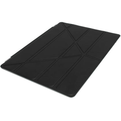 iGadgitz Black Faux Leather Cover for Apple iPad 2, 3 & 4 with Retina Display. With Sleep/Wake & Magnetic Clip Thumbnail 2