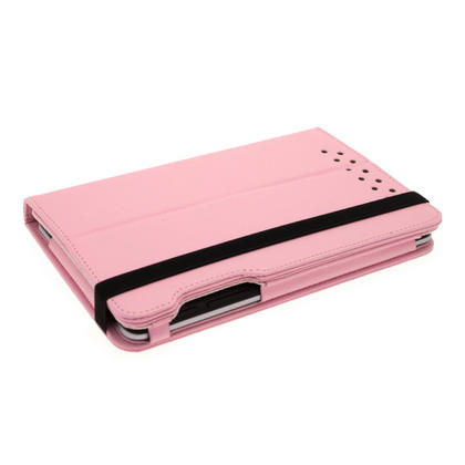 iGadgitz Pink 360° Rotating Detachable PU Leather Case Cover for Google Nexus 7 2012 1st Generation Android 4.1 Tablet 8GB 16GB. With Sleep/Wake Function + Screen Protector (NOT suitable for the 2nd Generation released August 2013) Thumbnail 8