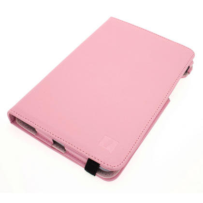 iGadgitz Pink 360° Rotating Detachable PU Leather Case Cover for Google Nexus 7 2012 1st Generation Android 4.1 Tablet 8GB 16GB. With Sleep/Wake Function + Screen Protector (NOT suitable for the 2nd Generation released August 2013) Thumbnail 2