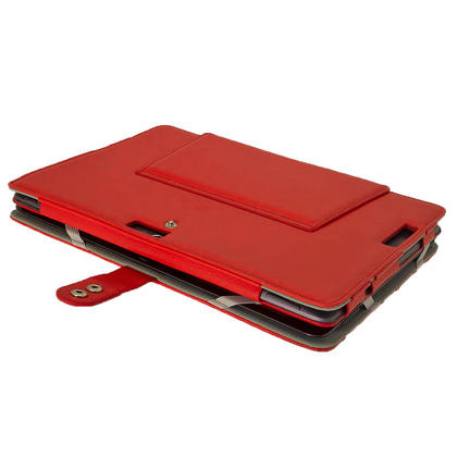 "iGadgitz Red 'Guardian' PU Leather Case for Asus Transformer Pad & Keyboard Dock TF700 TF700T Infinity 10.1"" Tablet Thumbnail 5"