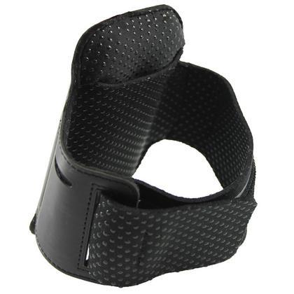 iGadgitz Black Reflective Anti-Slip Neoprene Sports Gym Jogging Armband for Apple iPhone SE, 5S, 5, 5C Thumbnail 2