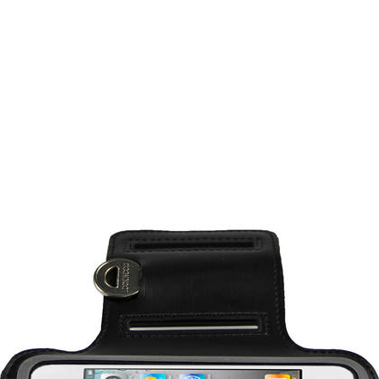 iGadgitz Black Reflective Anti-Slip Neoprene Sports Gym Jogging Armband for Apple iPhone SE, 5S, 5, 5C Thumbnail 5