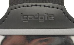 iGadgitz Black Reflective Anti-Slip Neoprene Sports Gym Jogging Armband for Apple iPhone SE, 5S, 5, 5C Thumbnail 6