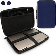 "iGadgitz Blue EVA Travel Hard Case for Various Asus 10.1"" Tablets (Transformer Pad/Infinity/Book/Memo Pad & Vivo Tab)"