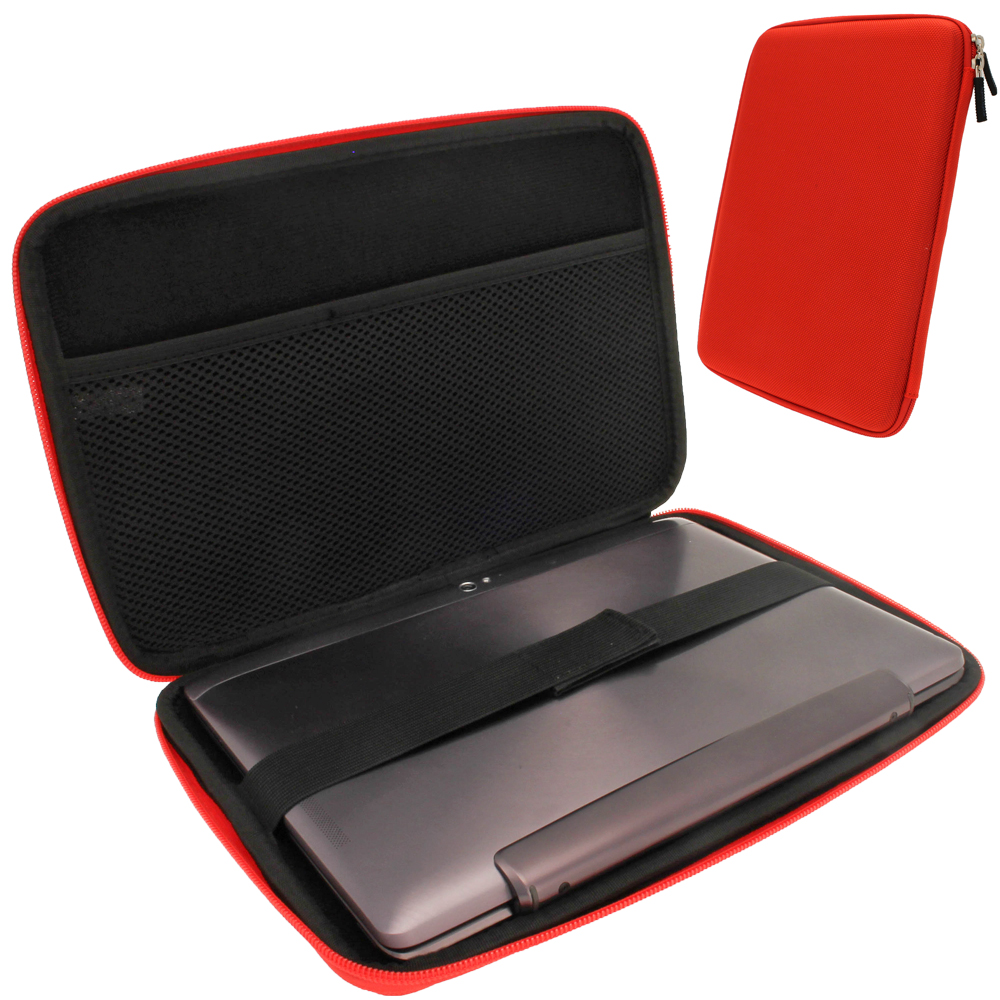 iGadgitz Red EVA Hard Case for Asus Transformer Book T100 / TF100T / TF101 / T100CHI