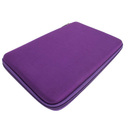 "iGadgitz Purple EVA Travel Hard Case for Various Asus 10.1"" Tablets (Transformer Pad/Infinity/Book/Memo Pad & Vivo Tab) Thumbnail 3"