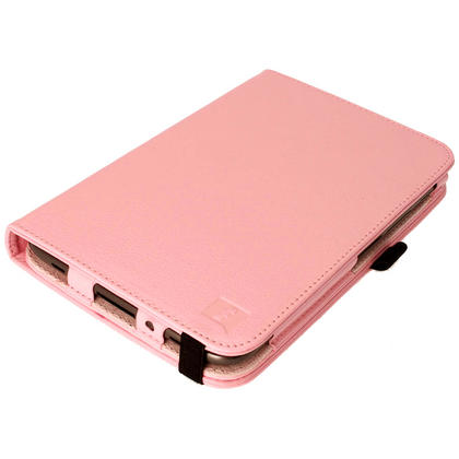 iGadgitz Pink 360° Rotating Detachable PU Leather Case for Samsung Galaxy Tab 2 P3100 P3110 7.0 4.0 + Screen Protector Thumbnail 2