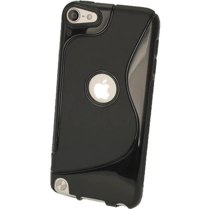 iGadgitz S Line Black Crystal Gel Skin (TPU) Case Cover for Apple iPod Touch 6th & 5th Generation Thumbnail 3