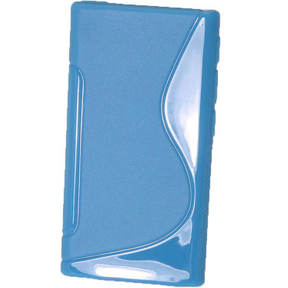iGadgitz Dual Tone Blue Gel Case for Apple iPod Nano 7th Generation 7G 16GB + Screen Protector Thumbnail 3