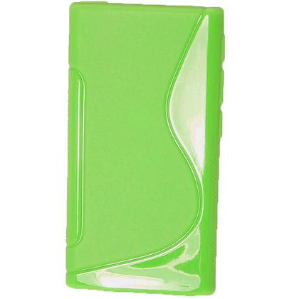 iGadgitz Dual Tone Green Gel Case for Apple iPod Nano 7th Generation 7G 16GB + Screen Protector Thumbnail 3