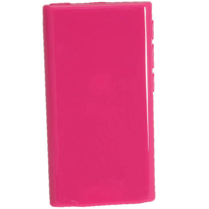 iGadgitz Hot Pink Glossy Gel Case for Apple iPod Nano 7th Generation 7G 16GB + Screen Protector Thumbnail 3