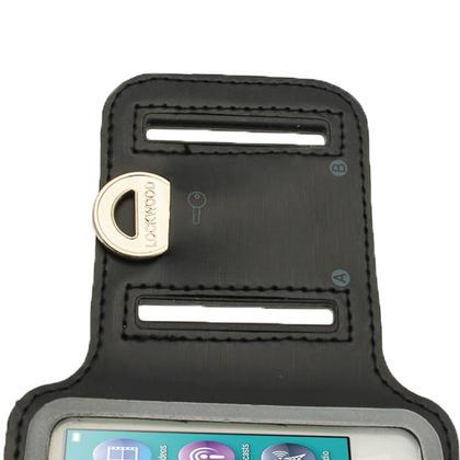 iGadgitz Black Reflective Anti-Slip Neoprene Sports Gym Jogging Armband for Apple iPod Nano 7th Generation 16GB Thumbnail 5