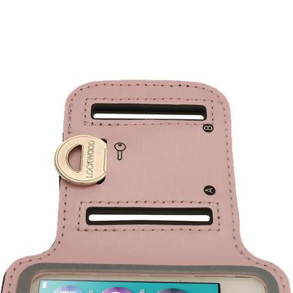 iGadgitz Pink Reflective Anti-Slip Neoprene Sports Gym Jogging Armband for Apple iPod Nano 7th Generation 16GB Thumbnail 5