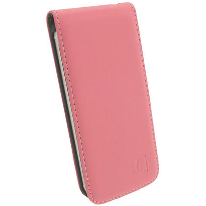 iGadgitz Pink PU Leather Flip Case for SE, 5S & 5 + Screen Protector (Not suitable for iPhone 5C) Thumbnail 4