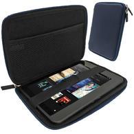 "iGadgitz Blue EVA Hard Case for Amazon Kindle Fire HD HDX 7"" (2012 & 2013 Versions) Wi-Fi 8GB 16GB 32GB 64GB Tablet"