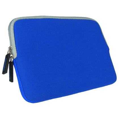 Blue Neoprene Case Cover with Front Pocket for Samsung Galaxy Tab S2 8'' SM-T710 Protective Sleeve Thumbnail 4