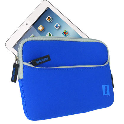 iGadgitz Blue Neoprene Case with Pocket for Apple iPad Mini 1st Gen & 2nd Gen with Retina Display (launched Oct 13) Thumbnail 2