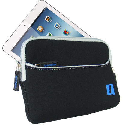 Black Neoprene Case Cover with Front Pocket for Samsung Galaxy Tab S2 8'' SM-T710 Protective Sleeve Thumbnail 2