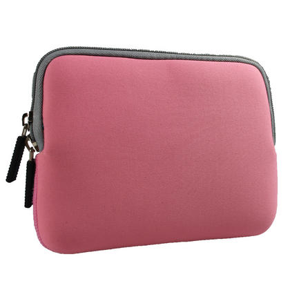 iGadgitz Pink Neoprene Case with Pocket for Apple iPad Mini 1st Gen & 2nd Gen with Retina Display (launched Oct 13) Thumbnail 4