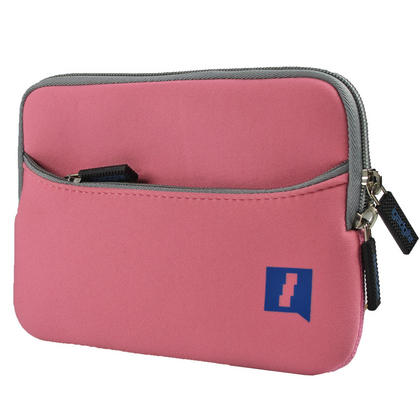 iGadgitz Pink Neoprene Case with Pocket for Apple iPad Mini 1st Gen & 2nd Gen with Retina Display (launched Oct 13) Thumbnail 3