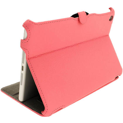 iGadgitz Pink PU Leather Case for Apple iPad Mini 16GB 32GB 64GB. With Sleep/Wake Function & Integrated Hand Strap Thumbnail 6