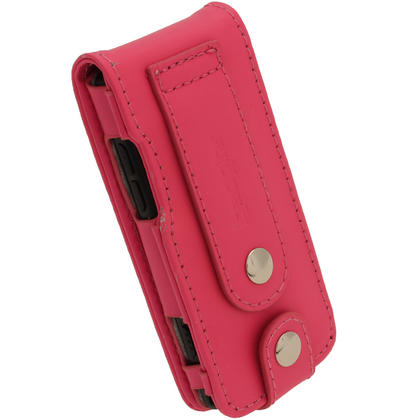 iGadgitz Pink Leather Case for Sony Walkman NWZ-E473 NWZ-E474 NWZ-E574 NWZ-E575 E Series MP3 Player Thumbnail 4
