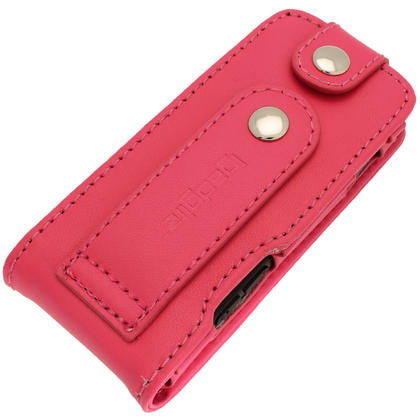 iGadgitz Pink Leather Case for Sony Walkman NWZ-E473 NWZ-E474 NWZ-E574 NWZ-E575 E Series MP3 Player Thumbnail 6