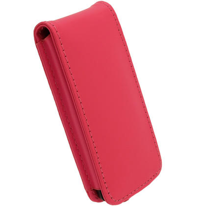iGadgitz Pink Leather Case for Sony Walkman NWZ-E473 NWZ-E474 NWZ-E574 NWZ-E575 E Series MP3 Player Thumbnail 5