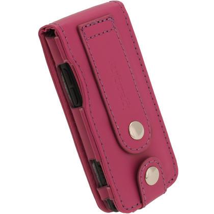 iGadgitz Purple PU Leather Case for Sony Walkman NWZ-E473 NWZ-E474 NWZ-E574 NWZ-E575 E Series MP3 Player Thumbnail 4