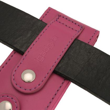 iGadgitz Purple PU Leather Case for Sony Walkman NWZ-E473 NWZ-E474 NWZ-E574 NWZ-E575 E Series MP3 Player Thumbnail 2