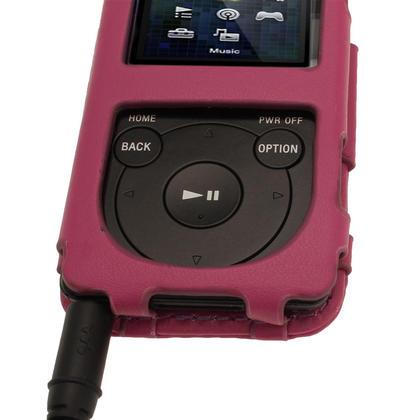 iGadgitz Purple PU Leather Case for Sony Walkman NWZ-E473 NWZ-E474 NWZ-E574 NWZ-E575 E Series MP3 Player Thumbnail 7