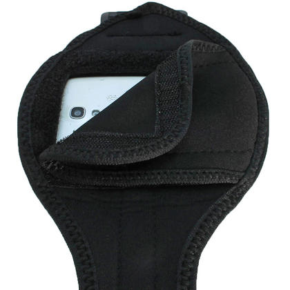 iGadgitz Black Neoprene Sports Armband for Samsung Galaxy S3 III Mini I8190 (NOT SUITABLE FOR GALAXY S3 i9300) Thumbnail 4