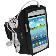 iGadgitz Black Neoprene Sports Armband for Samsung Galaxy S3 III Mini I8190 (NOT SUITABLE FOR GALAXY S3 i9300)