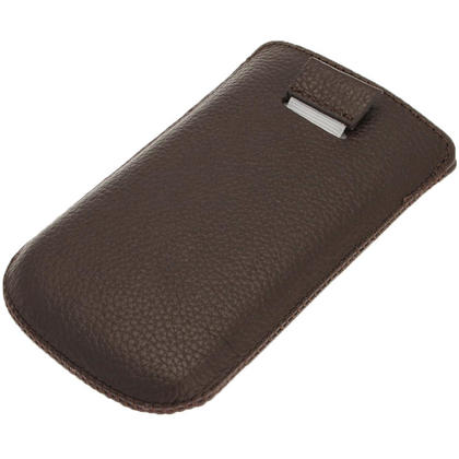 iGadgitz Brown Leather Pouch Case Cover for Samsung Galaxy S3 III Mini I8190 Android Smartphone Mobile Phone Thumbnail 3