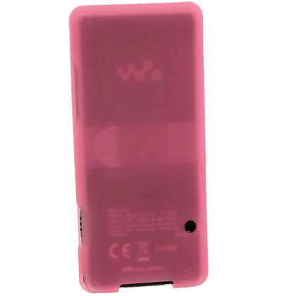 iGadgitz Pink Silicone Case for Sony Walkman NWZ-E473 NWZ-E474 NWZ-E574 NWZ-E575 E Series MP3 Player + Screen Protector Thumbnail 3