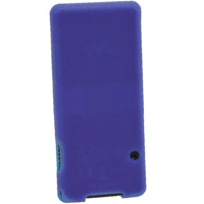 iGadgitz Blue Silicone Case for Sony Walkman NWZ-E473 NWZ-E474 NWZ-E574 NWZ-E575 E Series MP3 Player + Screen Protector Thumbnail 3