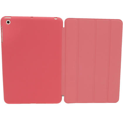 iGadgitz Pink Rubberised Plastic with Hard Back Case for Apple iPad Mini 16GB 32GB 64GB. With Sleep/Wake Function. Thumbnail 3